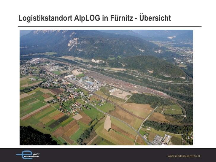 Logistikstandort AlpLOG in Fürnitz - Übersicht