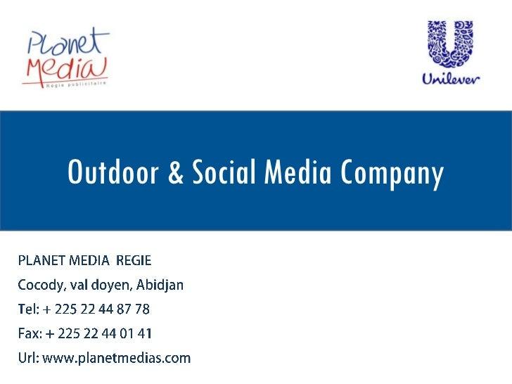Outdoor & Social Media Company
