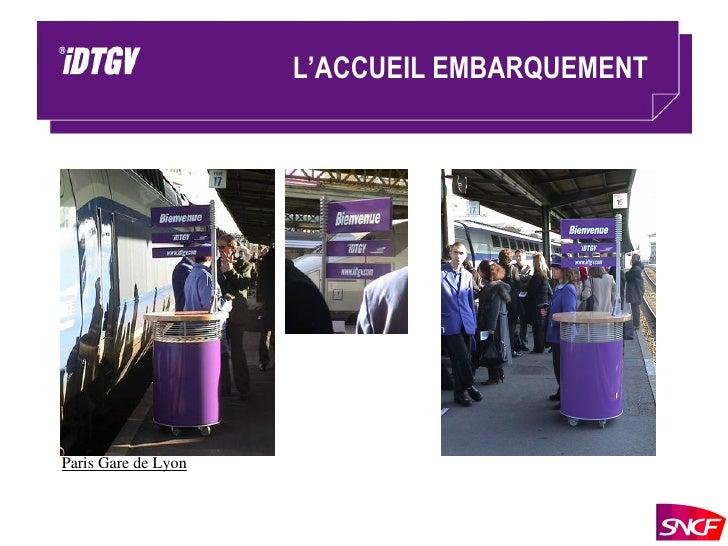 L'ACCUEIL EMBARQUEMENT Paris Gare de Lyon