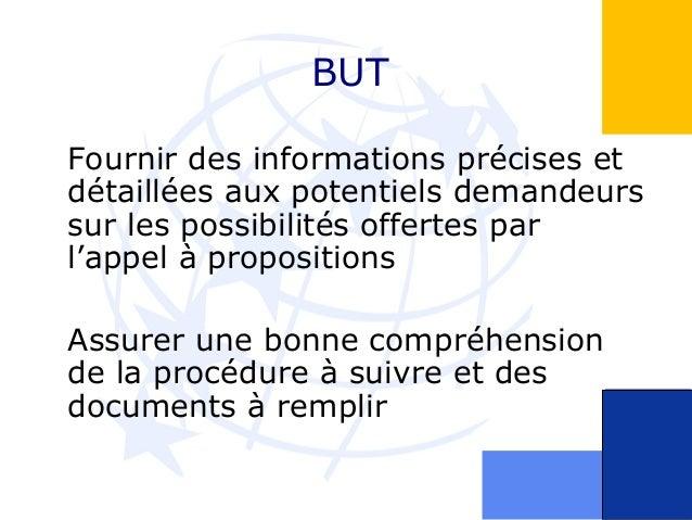 Présentation sessions d'information Slide 3