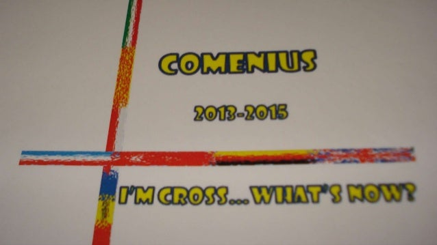 Comenius 2013-2015  I am cross, what now?  Sieradz  (Poland)  08.12.-11.12.2013  The participants of the different countri...