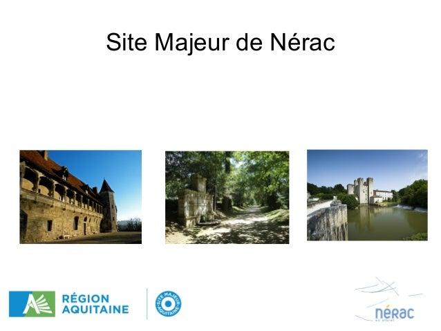 Site Majeur de Nérac