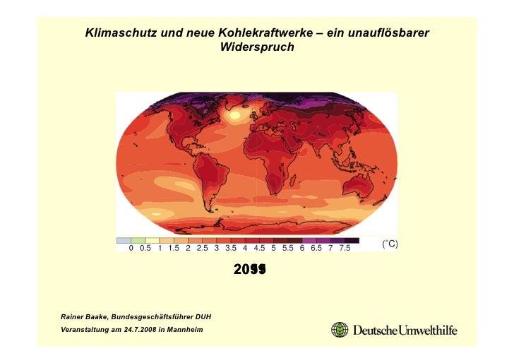 Klimaschutz und neue Kohlekraftwerke – ein unauflösbarer                            Widerspruch                           ...