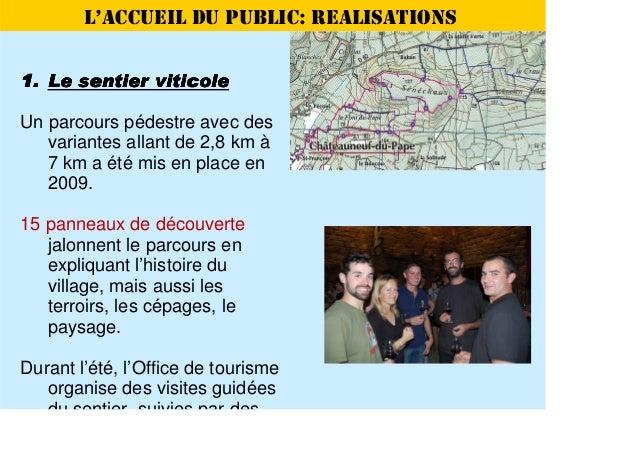Site remarquable du go t de ch teauneuf du pape h courteau - Office de tourisme chateauneuf du pape ...