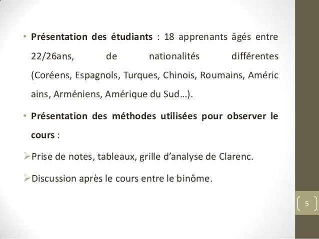 Pr sentation stage d observation modifi - Grille indiciaire professeur certifie ...