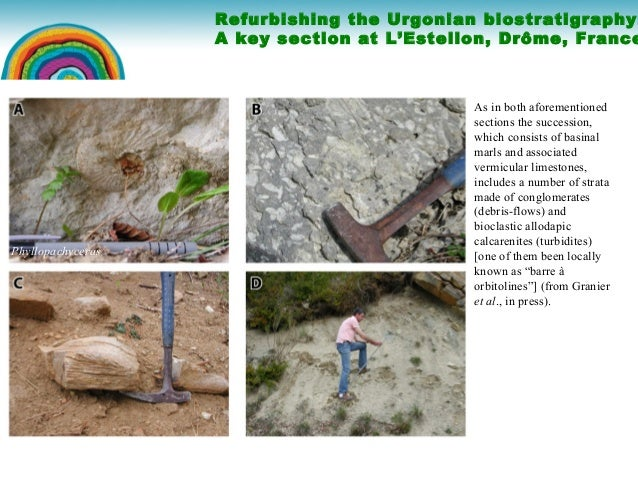 Refurbishing the Urgonian biostratigraphy Slide 2