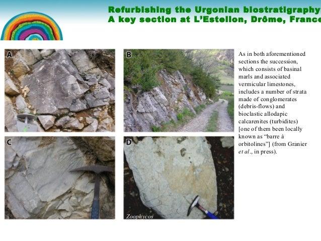 Refurbishing the Urgonian biostratigraphy Slide 3