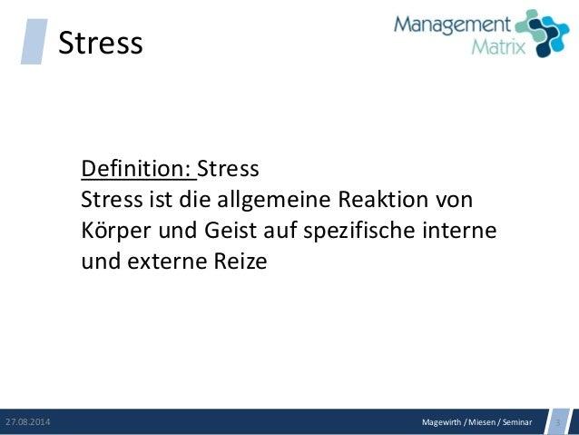 Stress managen Slide 2