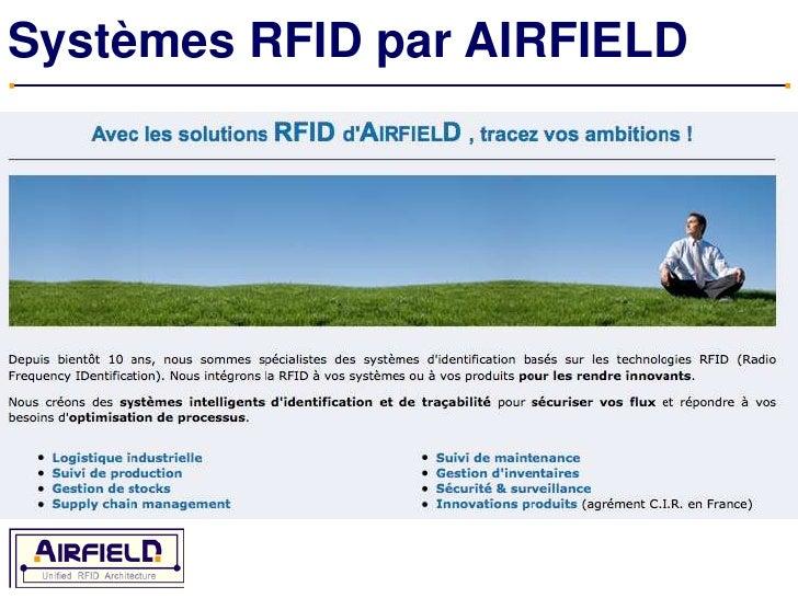 Systèmes RFID par AIRFIELD