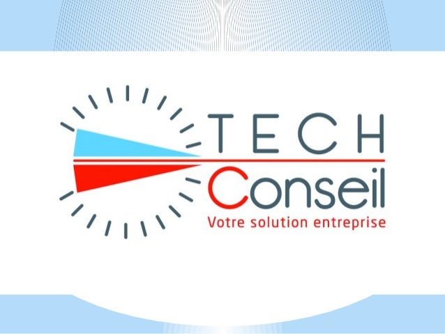 Présentation de Tech-Conseil *La mission et l'engagement, *Les outils, *Le process, *Clients et cibles, *Conclusion et que...