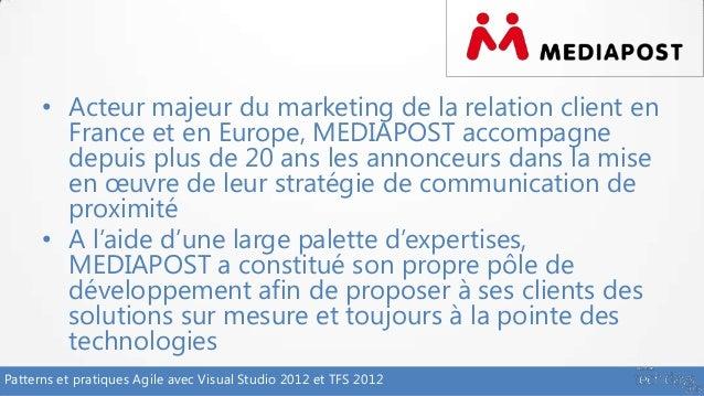 Patterns agiles avec visual studio 2012 et tfs 2012 alm201 - Cabinet de conseil en strategie marketing ...