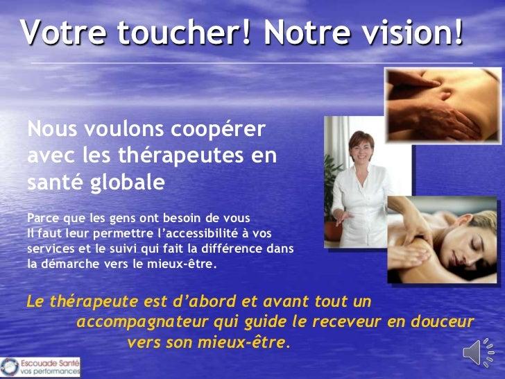Présentation Thérapeutes 2011 Finale Slide 2