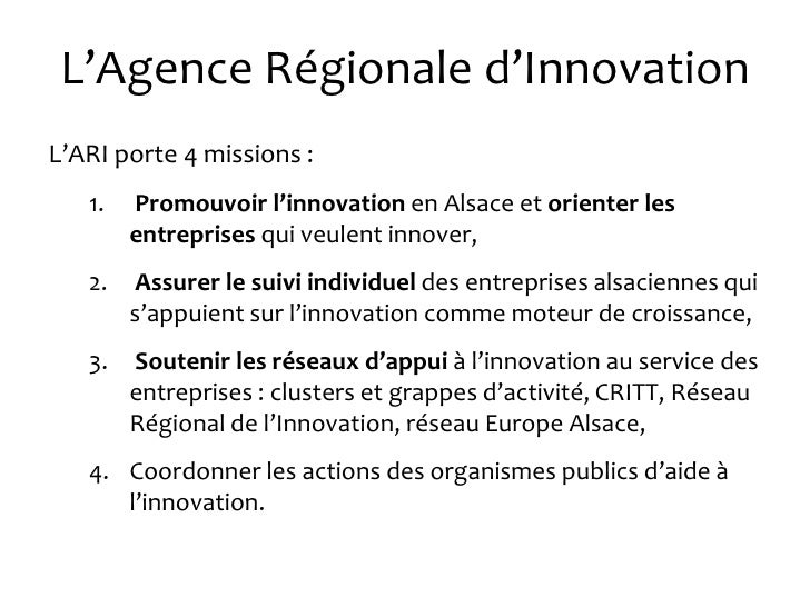 Pr sentation trimestre cr atives - Agence regionale colis prive ...