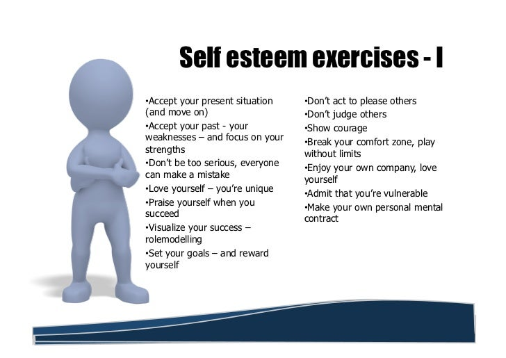 Self esteem vs self confidence – Printable Self Esteem Worksheets