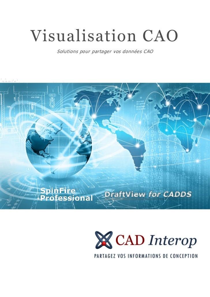 Visualisation CAO   Solutions pour partager vos données CAO