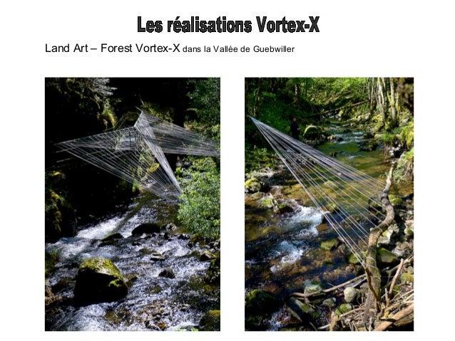 Land Art Vortex-X Station météo du Grand Ballon d'Alsace