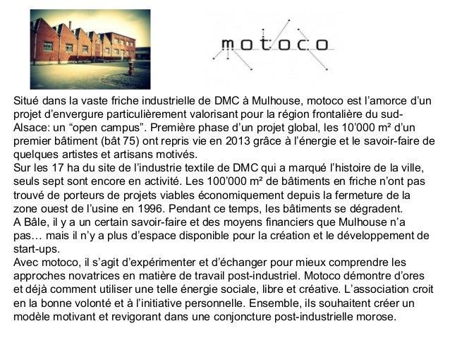 Le projet Vortex-X a été lancé à DMC Mulhouse, dans le cadre du projet motoco lui-même inscrit dans le contexte tri-nation...