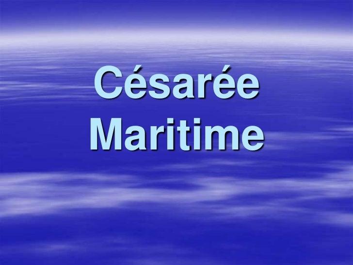 CésaréeMaritime