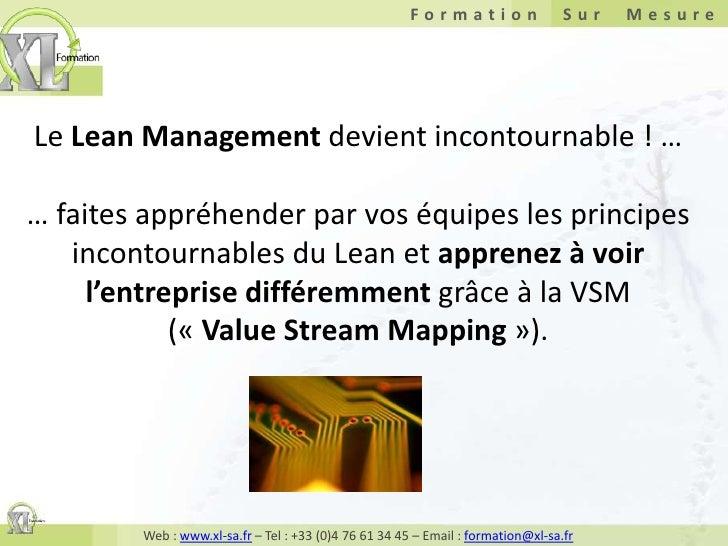 Le Lean Management devient incontournable ! … … faites appréhender par vos équipes les principes incontournables du Lean e...