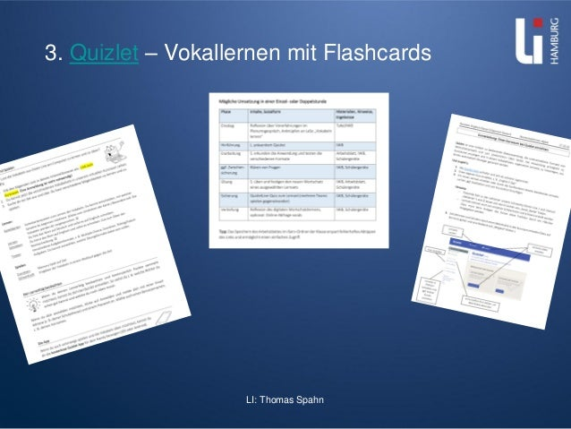 LI: Thomas Spahn 3. Quizlet – Vokallernen mit Flashcards