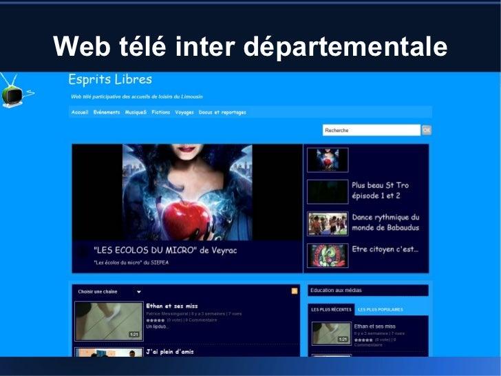Web télé inter départementale