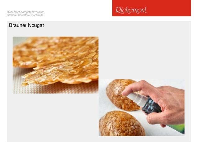 Richemont Kompetenzzentrum Bäckerei Konditorei Confiserie Brauner Nougat