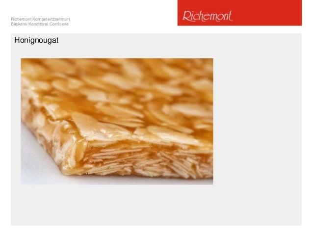Richemont Kompetenzzentrum Bäckerei Konditorei Confiserie Honignougat
