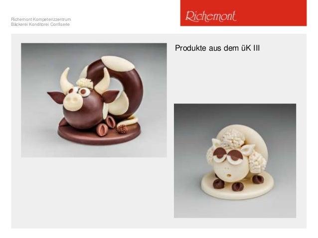 Richemont Kompetenzzentrum Bäckerei Konditorei Confiserie Produkte aus dem üK III