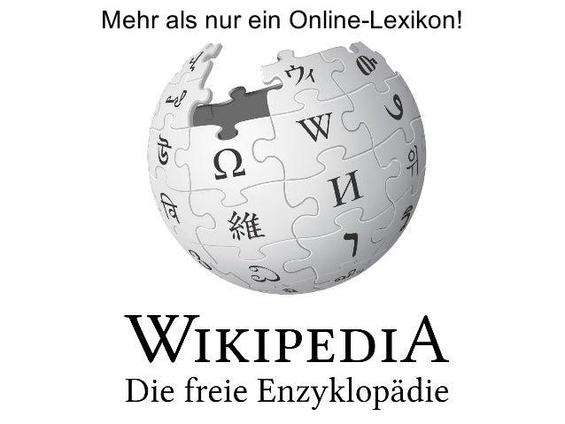 Mehr als nur ein Online-Lexikon!