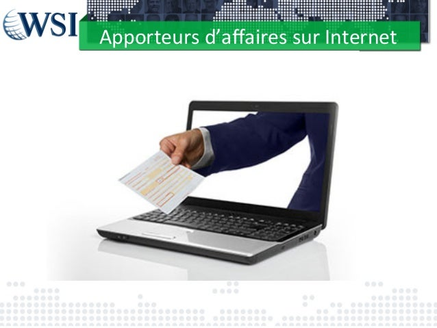 Apporteurs  d'affaires  sur  Internet