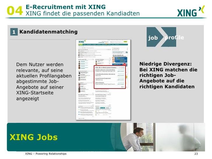 Präsentation XING Jobs Zukunft Personal - neue Features für ...