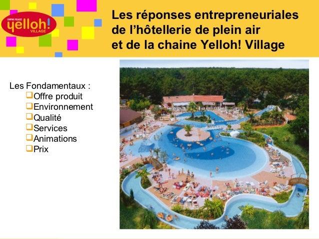 Présentation yelloh! village Slide 2