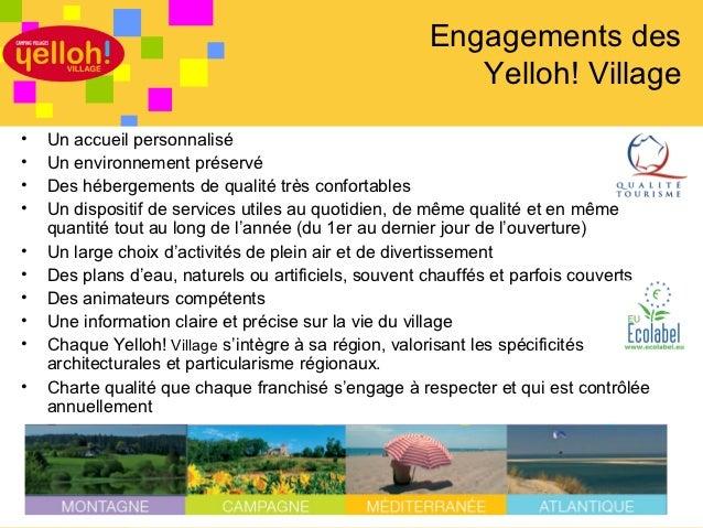 Présentation yelloh! village Slide 3