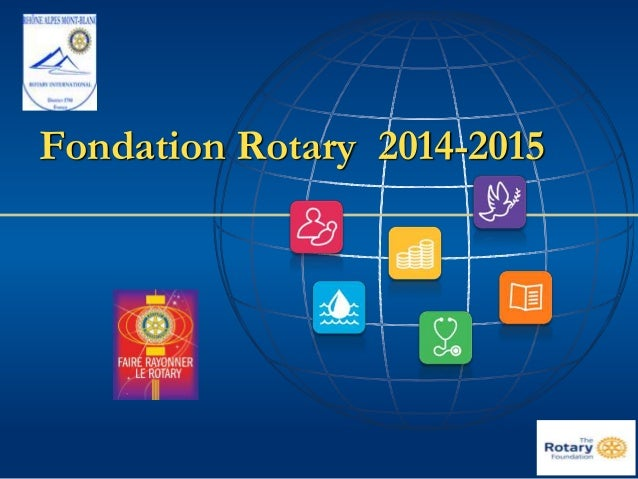 Fondation Rotary 2014-2015