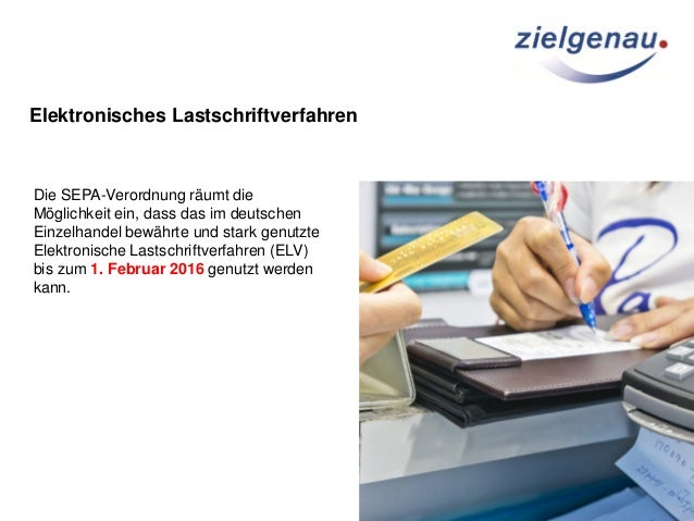 Elektronische Lastschriftverfahren