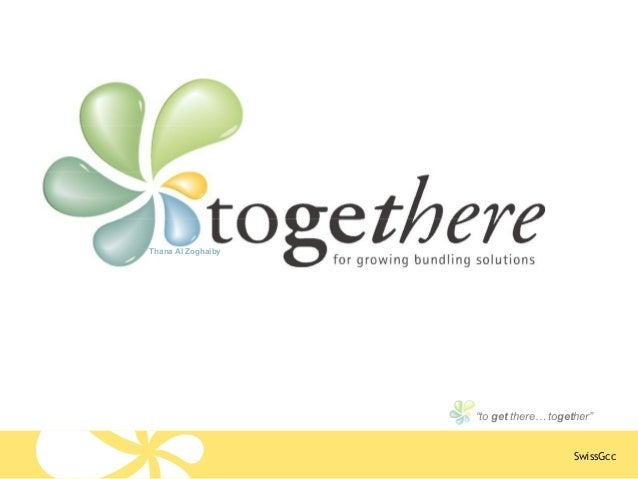 """SwissGcc """"to get there… together"""" Thana Al Zoghaiby"""