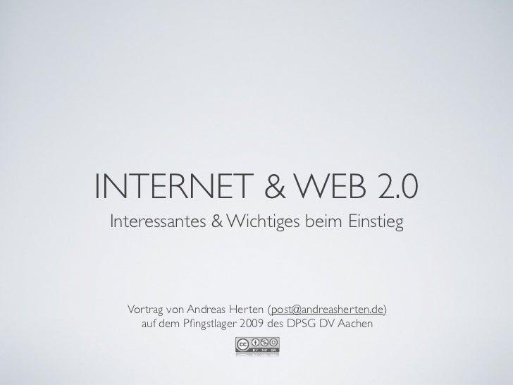 Internet und Web 2.0, eine Einführung für Kinder Slide 2