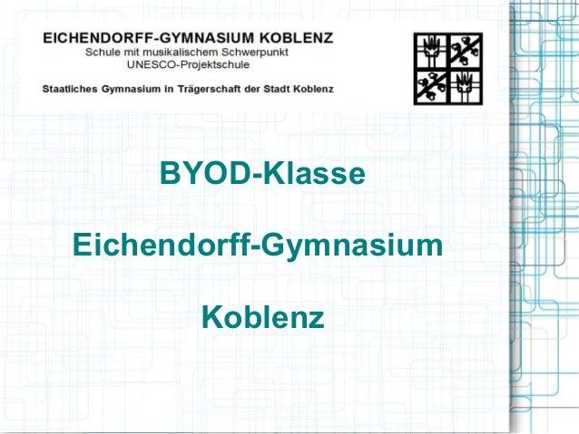 BYOD-KlasseEichendorff-GymnasiumKoblenz