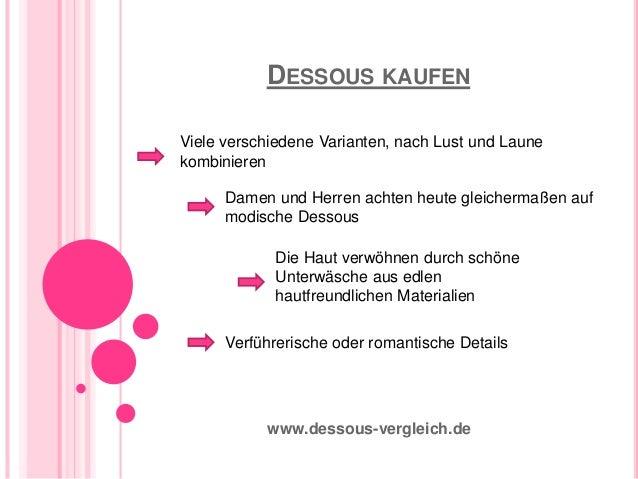 Dessous Kaufen - wervolle Informationen zum Dessous kaufen !  Slide 3