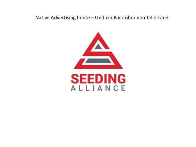 Native Advertising heute – Und ein Blick über den Tellerrand