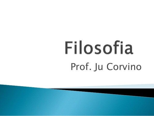Prof. Ju Corvino