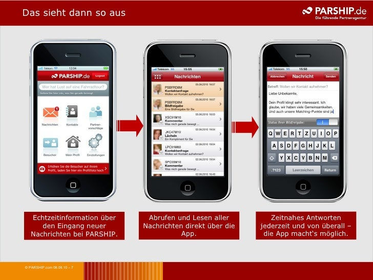 Partnersuche iphone-app