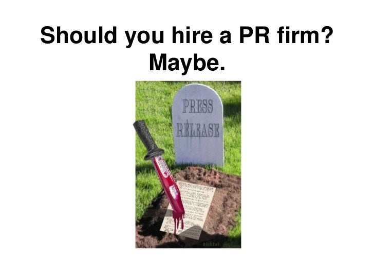 PR firms = RelationshipsIntroductions do the same
