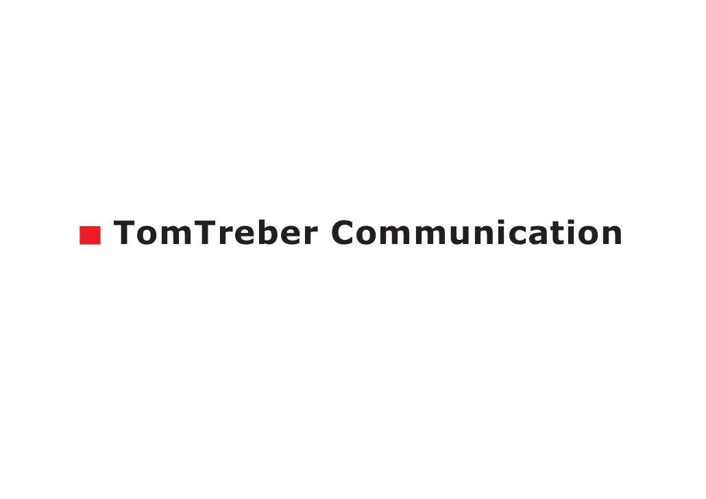 x TomTreber Communication