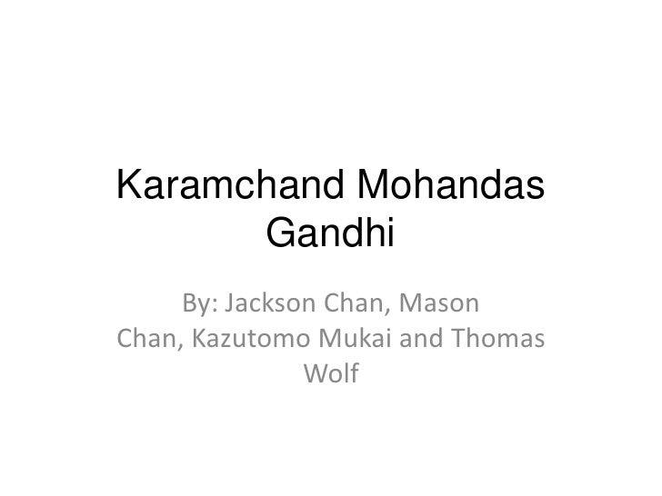 Gandhi Y8 Assessment