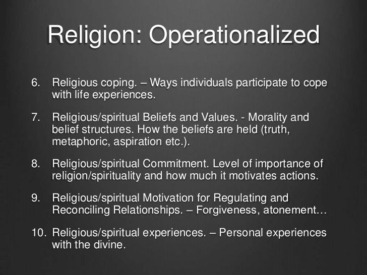 the impact of spirituality and religion on medical care Importance of religion in healthcare by walt clinicians should try to determine whether patients' religious and spiritual beliefs may affect the kind of medical care that is respectful of what is important to the patient as effective spiritual care in a doctor/patient relationship is.