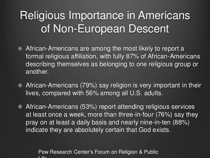 the role and impact of religion Religion and the founding of the american republic religion and the federal government, part 1 home   overview  its reserve troubled two groups of americans--those who wanted the new.