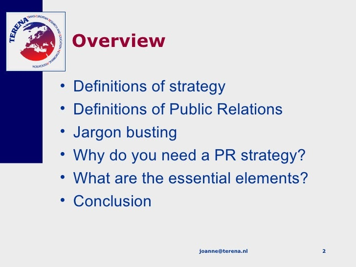 Pr Strategy Cambridge Slide 2
