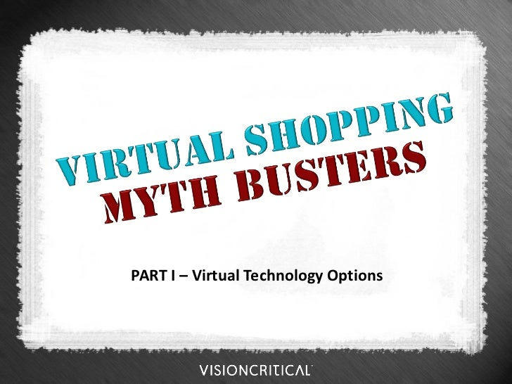 PART I – Virtual Technology Options