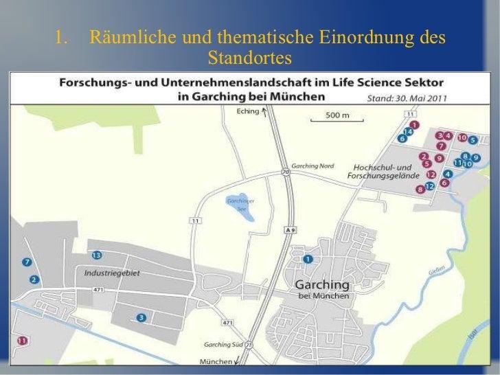 1. Räumliche und thematische Einordnung des Standortes